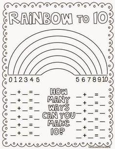 El arcoirisdel 10 Hemos descubierto el ARCOIRIS del 10. Es muy importante conocer y dominar los complementarios del 10. Esto ayudará y agilizará mucho los cálculos mentales y operaciones que reali…