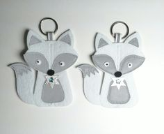 Arctic-fox Hobbies And Crafts, Diy And Crafts, Crafts For Kids, Arts And Crafts, Fox Crafts, Fox Decor, Arctic Fox, Projects To Try, Homemade