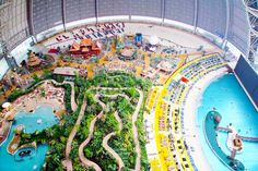 Colossal Tropical Island Resort Hidden In Germany I want Togo here. 1 hour from Berlin