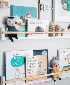Une façon originale de mettre en valeur ses plus beaux ouvrages.© Pinterest Instagram