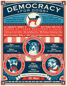 For fundraising project http://www.agaperescue.org/democracyfordogs/#