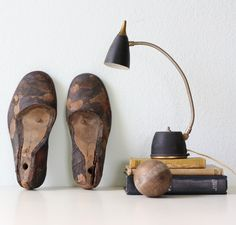 Vintage Men's Shoe Forms.