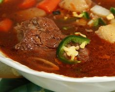 Caldo de Res is as simple as its name implies; in case you are not familiar with the dish, the name literally means beef soup, which is just what this hearty and satisfying soup is. Beef, bones and vegetables are simmered together to create an incredibly delicious soup which is as comforting as comfort food gets.