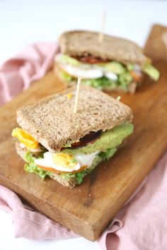 Easy Healthy Recipes, Easy Meals, Healthy Food, Sandwiches, Buffet, Lunch Snacks, High Tea, Food Inspiration, Good Food