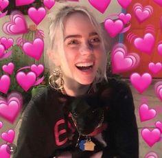 Billie eilish, reaction pictures и love memes. Billie Eilish, Mode Poster, Heart Meme, Cute Love Memes, Wholesome Memes, Favorite Person, American Singers, Reaction Pictures, Videos