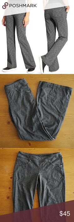 Athleta Bettona Classic Pant Heather Gray Athleta Bettona Classic Pant Heather Gray. Size XS. Great condition. No rips or Stains.  Semi Fitted, Mid Rise, Straight Leg.  Waist flatlay 13.5 Length 38 in Rise 7 in Inseam 32in  Offers Welcome Ships 1-3 Days Bundle for a Discount Athleta Pants