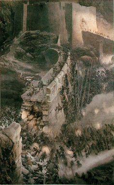 """Алан Ли - иллюстрации к книге """"Властелин Колец"""" Дж. Р. Р. Толкиена, 1991"""
