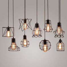 Luxurious ceiling hanging lights, pendants lights of different crystal design, find your favorite new arrivals retro iron pendant light loft lamps birdcage vintage industrial pendant lamp hanging lamp fixture bar cafe restaurant store from flymal - b