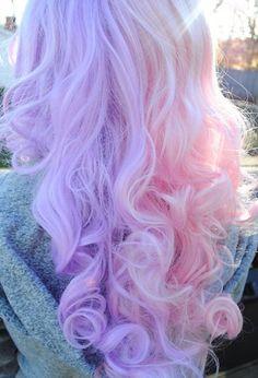 Pastel hair hair dyed hair, hair styles и hair color pink Pastel Pink Hair, Hair Color Purple, Cool Hair Color, Pink Purple, Pastel Goth, Light Purple, Pretty Pastel, Pink Color, Unicorn Hair Color