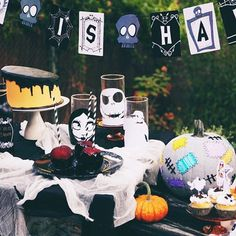This is Halloween, everybody make a scream. Although spooky, this Nightmare Before Christmas party is truly a dream.