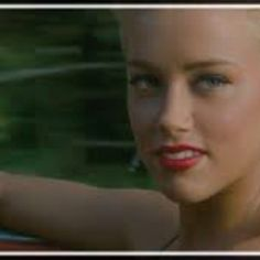 New girl crush. Loved Amber Heard in The Rum Diary