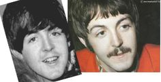 """From a fascinating blog: """"Plastic Macca - Paul is Dead """"  """"Faulsifying evidence: photo-tampering & illusion creation /  I believe that photo-doctoring has been used to further the illusion that Paul McCartney is """"still with us"""" by making Faul look more like Paul and vice versa. The Italian forensic scientists also detected evidence of photo-tampering...."""" Anyone interested in the subject of whether or not the original Paul McCartney was replaced in late 1966 should check out this blog...."""