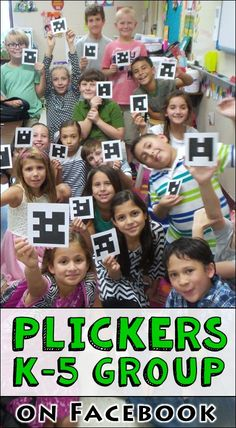 Join a Facebook group moderated by Laura Candler for  elementary teachers who want to know more about Plickers and share ideas with educators who are using it! Click the link to access the signup form.