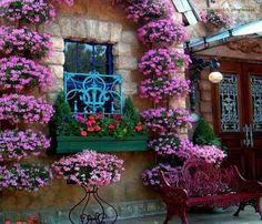 Façades fleuries. | Maramouch