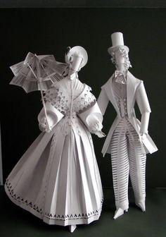 Ася Гонца - by Asya Gonsa - paper dolls
