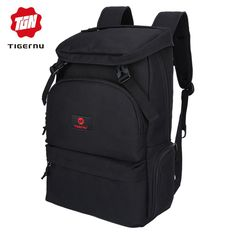 Tigernu fashion men preppy style backpack for youth flap pocket large  capacity daily bag business laptop backpack 5b9911c951663