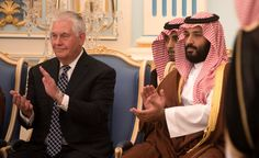 As he said that at a news conference, Mr. Tillerson was standing next to the Saudi foreign minister, Adel al-Jubeir, who represents a government that does not guarantee free speech or many other rights. When Mr. Tillerson turned to leave, a reporter asked if he had anything to say about human rights in Saudi Arabia. The secretary departed without answering.