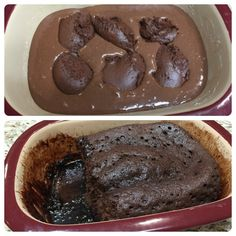 Chocolate Lava Cake in the Microwave Pampered Chef Lava Cake Recipe, Pampered Chef Desserts, Bakers Chocolate, Chocolate Lava Cake, Lava Cake Recipes, Dessert Recipes, Microwave Lava Cake, Just Desserts, Delicious Desserts