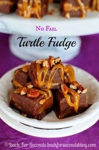 No Fail Turtle Fudge