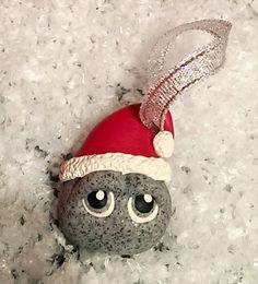 Novelty pet rock    Christmas tree decoration  by Wishcraft2013, £2.50