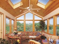 Advantages: Skylights are constantly evolving, and advances in design mean these high-flying windows are less prone to leaks than they used to be. Some skylights can now be customized with integrated remote-controlled blinds, and advances in heat-resistant coatings mean they're less likely to turn your home into an oven than ever before. Because of their angle, they are excellent sources of light throughout the day. Casement-window-based skylights can be opened and closed for room…