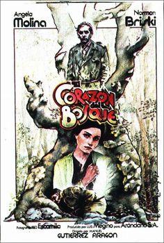 El corazón del bosque (1979). España. Dir.: Manuel Gutiérrez Aragón. Drama. Posguerra - DVD CINE 2085