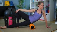 Relieve tension with foam rollers
