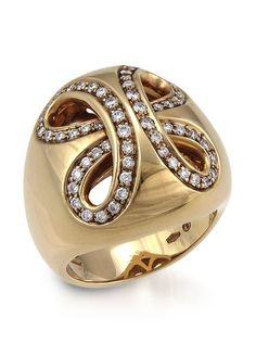 Damiani Ruban 18K Rose Gold Diamond Ring, http://www.myhabit.com/redirect/ref=qd_sw_dp_pi_li?url=http%3A%2F%2Fwww.myhabit.com%2Fdp%2FB00OXOY1A4%3Frefcust%3DNFYPN7ZNQTRQCGENLAJ52JCQUM
