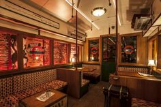 Cahoot sounds like a lot of fun - this bar has a full underground atmosphere and lots of little secrets! >> More info: http://now-here-this.timeout.com/2015/03/04/ten-reasons-to-visit-sohos-new-underground-bar-cahoots/#more-193912