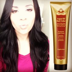 Argan Oil Hair Color Chocolate Brown - Best Safe Hair Color Check more at http://www.fitnursetaylor.com/argan-oil-hair-color-chocolate-brown/