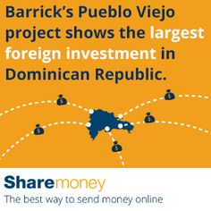 Send Money To The Dominican Republic Dr Did You Know Barrick S Pueblo
