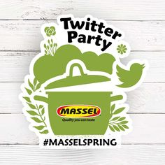 Join Massel Twitter Party:  Spring into the Kitchen-Spring Garden recipes  Follow: Masselbouillon  @whatsthatsmell @hillesha & @amnichols Date: Thurs. April 9th Time: 7pm CST/5PST Hashtag: #MasselSpring Win some fabulous  prizes: Lodges Cookware set (william sonoma), Visa Gift Cards ($50) and Massel products.