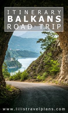 Balkans road trip itinerary - Bosnia and Herzegovina, Montenegro and Albania. | Road Trip Ideas