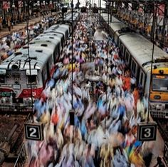 India : This is the Mumbai Railway station. Dare to catch a train? SHARE YOUR TRAVEL EXPERIENCE ON www.thetripmill.com! Be a #tripmiller!