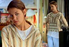 Movie Outfits, 90s Outfit, Dawson's Creek Cast, Joey Potter, 90s Fashion, Fashion Outfits, Cinema, Katie Holmes, Slim Pants