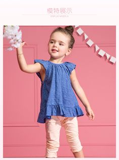 New Girls Clothing Sets Baby Kids Clothes Children Clothing 2 PCS Set Short sleeve Casual Simple Blouse and Pants