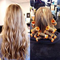 This Women Beach Wave Perm Hair - Body Wave Perms Before And After intended for Loose Perm Photos and collection about it Loose perm. Hairstyle loose perm on long hair Loose Wave Perm, Beach Wave Perm, Body Wave Perm, Loose Spiral Perm, Loose Waves, Wavy Hair Perm, Perm Curls, Perms For Long Hair, Hair Perms