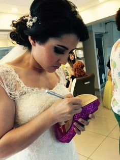 Gelin saçı ayakkabı gelinlik bridal