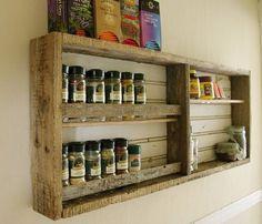 Kitchen Pallet Racks Ideas - Pallet Idea