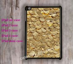 Shiny Fabulous Gold Sequin iPad Air caseipad by charmcover on Etsy, $19.99