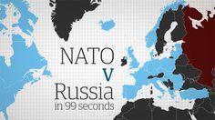Nato v Russia in 99 seconds – video animation