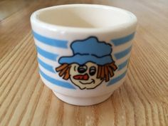 Mackintosh's Toffee and Mallow egg cup. Hornsea.