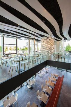 Café restaurant Riva Amsterdam by Heyligers Design + Partners