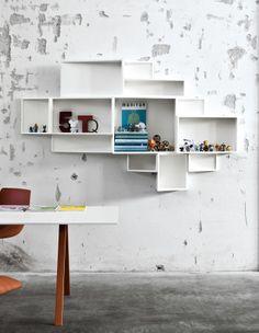 Libreria moderna da muro SheLLf - kristalia