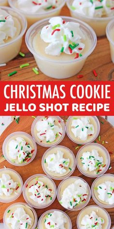 Christmas Jello Shots, Best Christmas Cocktails, Christmas Drinks Alcohol, Holiday Cocktails, Holiday Treats, Christmas Treats, Christmas Baking, Holiday Recipes, Christmas Holiday