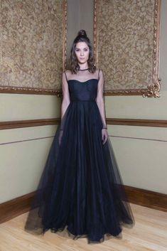 552cfa9a3788 16 mejores imágenes de Vestido de tul negro en 2018   Vestidos ...