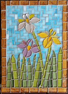 Dutch Irises - by Wendy de Beer
