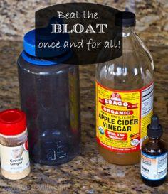 Feeling Bloated? Drink Apple Cider Vinegar