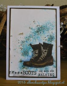 Ben's Boots by Art Journey Boy Cards, Cute Cards, Brusho, Paint Cards, Art Impressions, Artist Trading Cards, Digi Stamps, Masculine Cards, Greeting Cards Handmade
