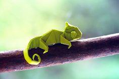 super cute alternative to a bird. SO CUTE! #origami